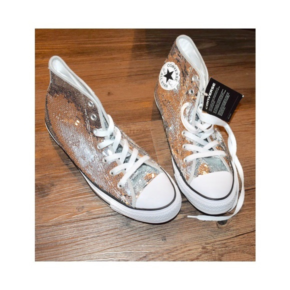 48c0b2fe036 Chuck Taylor Sequin Canvas High Top Sneakers